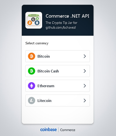 Coinbase Commerce Screenshot 3